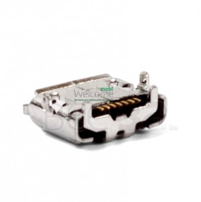 Коннектор зарядки Samsung S8530,B7300 orig (5 шт.)