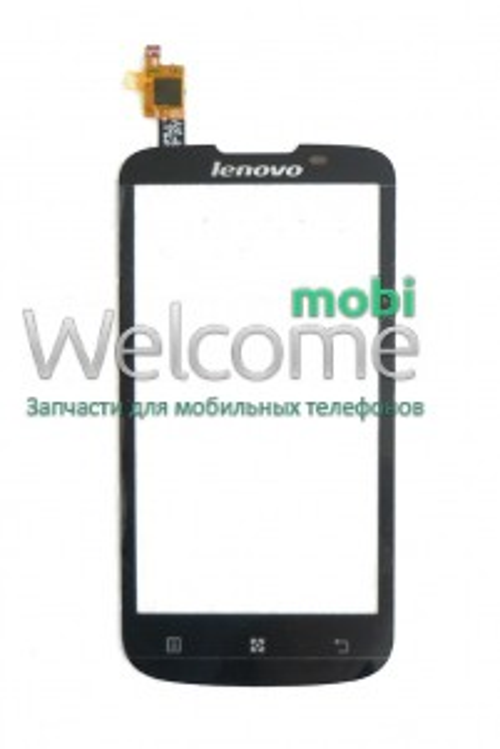 Сенсор Lenovo A800 black orig