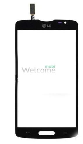 Сенсор LG D373 Optimus L80 Blanco black orig