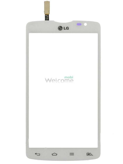 Сенсор LG D380 Optimus L80 Dual SIM white orig