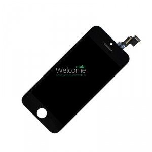 iPhone5C LCD+touchscreen black high copy (TEST)