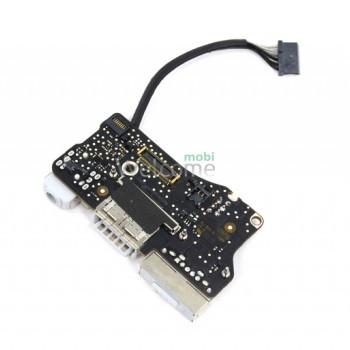 Board connectors MagSafe2, audio и USB for Macbook Air 13, 2012-2013