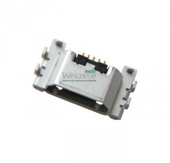 Коннектор зарядки Sony C6802 Xperia Z Ultra,C6806,C6833,D5303,D5306,D5322,D5503 5 pin (5шт.)