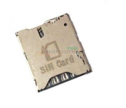 Коннектор sim HTC One M7 Dual Sim 802w