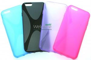 Силиконовый чехол New Line X-series Case iPhone 6 (разные цвета)