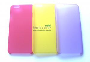 Силиконовый чехол Perfektum UltraThin iPhone 6 (разные цвета)