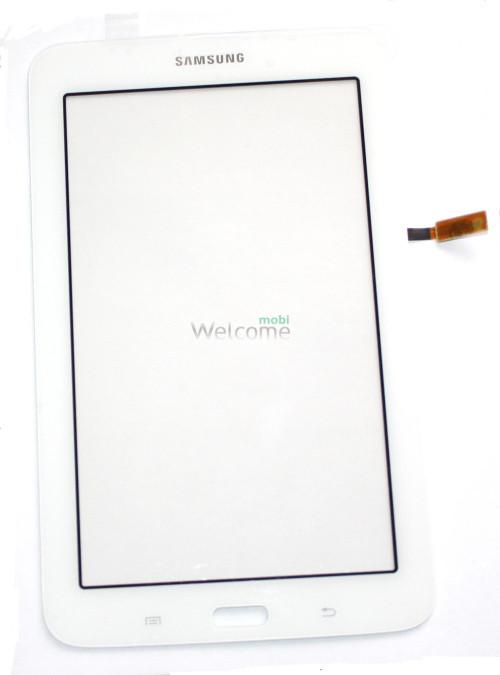 Сенсор к планшету Samsung T110,T113 White orig