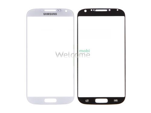 Стекло Samsung I9500 Galaxy S4 white orig