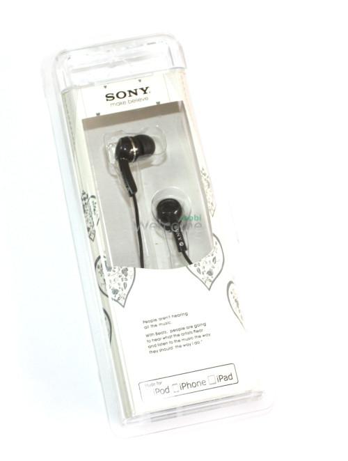 Наушники вакуумные Sony make.believe L-901,903 black