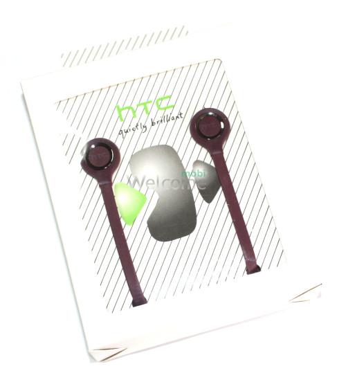 Наушники вакуумные HTC duietly brilliant бордо (гарнитура)