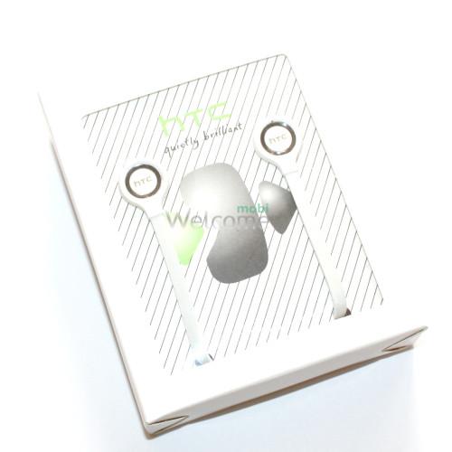 Наушники вакуумные HTC duietly brilliant white (гарнитура)