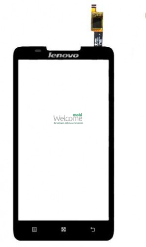 Сенсор Lenovo A656,A766  black high copy