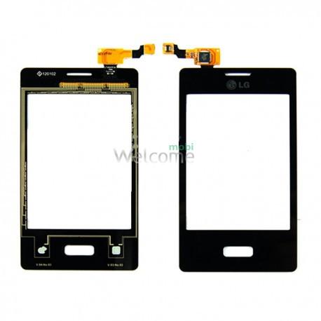 Сенсор LG E400 Optimus L3 black high copy