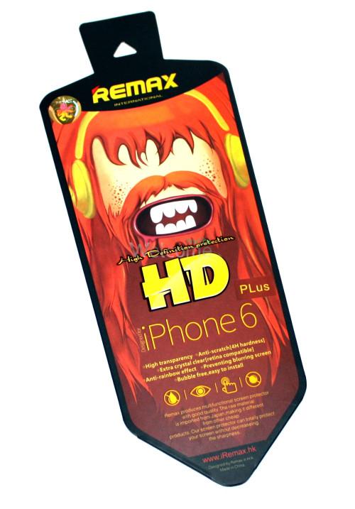Защитная пленка iPhone6 Plus Remax глянец