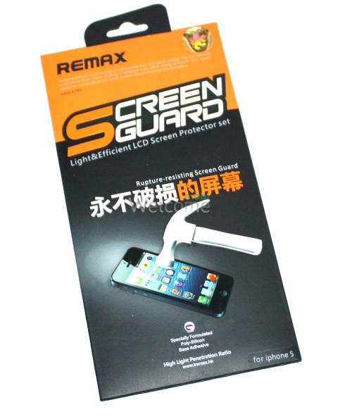 Защитная пленка iPhone5 Remax противоударная