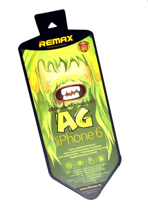 Защитная пленка iPhone6 Remax матовая