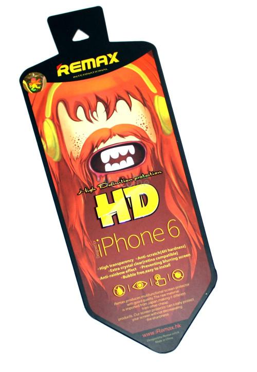 Защитная пленка iPhone6 Remax глянец
