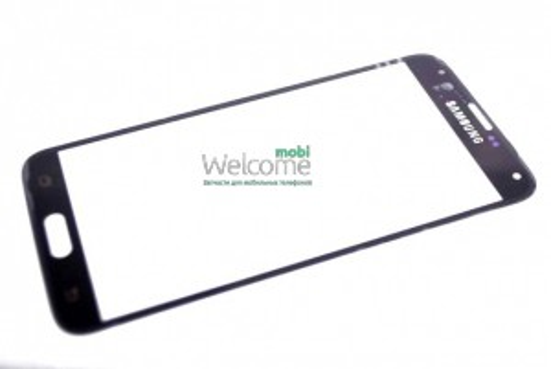 Стекло корпуса Samsung I9600,G900 Galaxy S5 black high copy