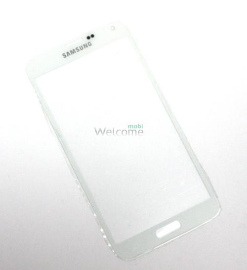 Стекло Samsung I9600,G900 Galaxy S5 white high copy