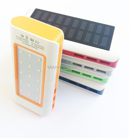 Внешний аккумулятор (power bank) Solar charger EC-2024 20000mAh 3USB+LED 15 smd