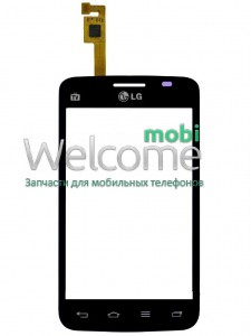 Сенсор LG E445 Optimus L4 Duos black orig