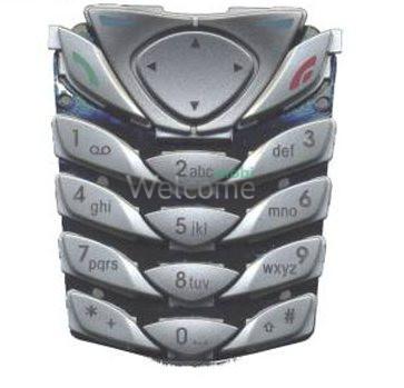 Клавиатура Nokia 6100 silver