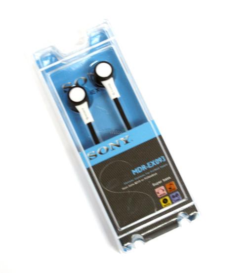 Наушники вакуумные Sony MDR-EX093 black,white