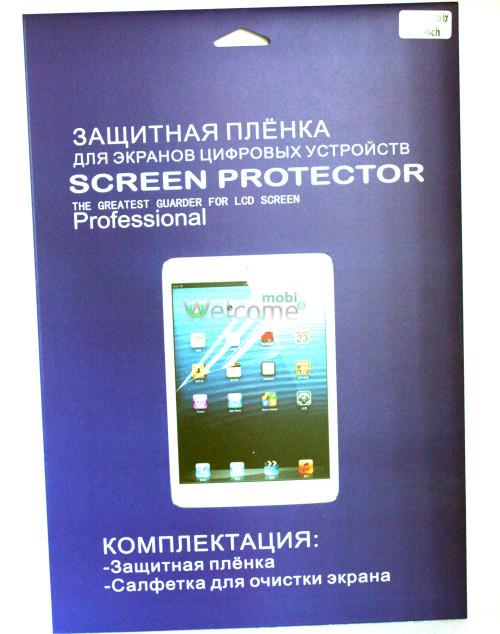 Защитная пленка 10 .0 дюйм глянец (экран) + ткань для протирки