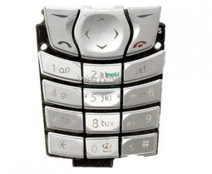 Клавиатура Nokia 6610 silver