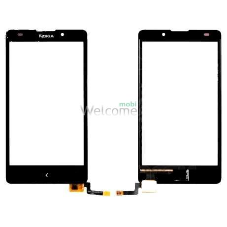 Сенсор Nokia XL Dual Sim, black orig