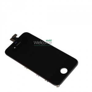 iPhone4S LCD with touch black with frame AAA (TEST)