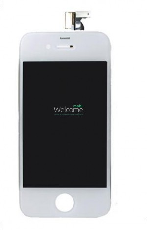 iPhone4G LCD with touch and frame white AAA (TEST)