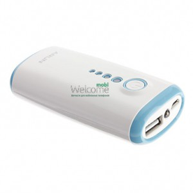 Внешний аккумулятор (power bank) ARUN Y202 5600mAh blue