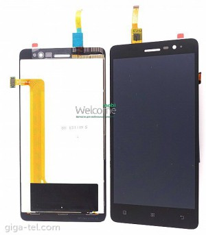 Дисплей Lenovo S860 with touchscreen black orig