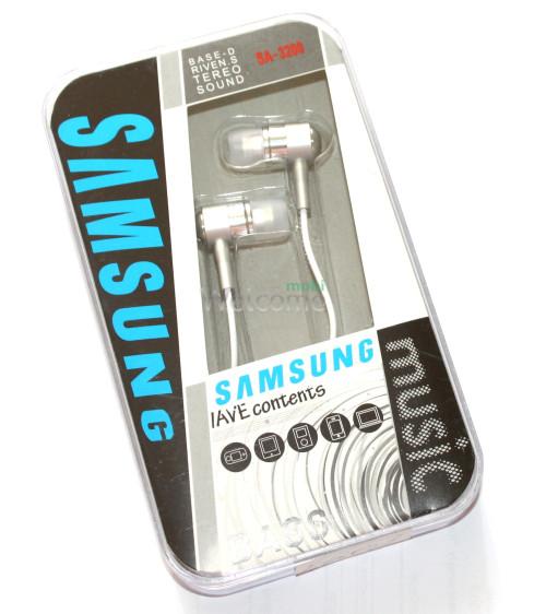Наушники Samsung SA-3200 metal silver