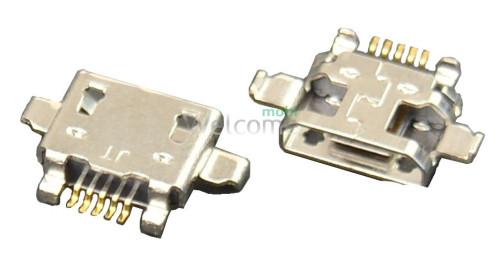 Коннектор зарядки HTC X8 WKUBI011-011 20 USB orig (5шт.)