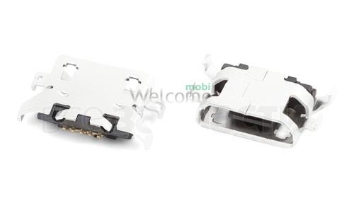 Коннектор зарядки Lenovo UB007-24123A52 50 USB orig (5 шт.)