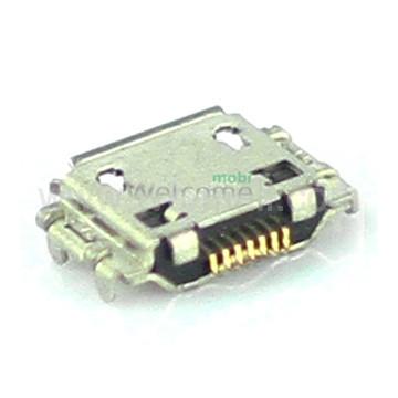Коннектор зарядки Samsung I9000,I8910,S5350,S5660,I9001,I9003,S7220 orig (5 шт.)