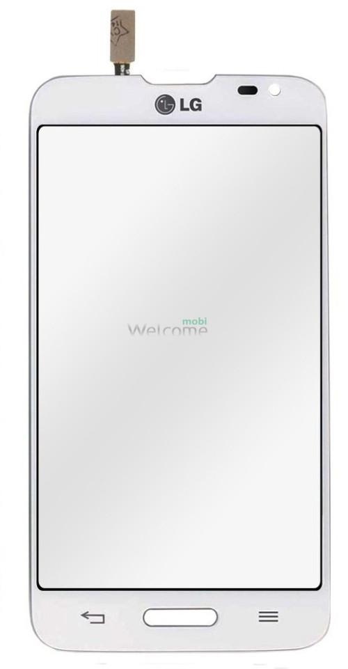 Сенсор LG D373 Optimus L80 Blanco white orig