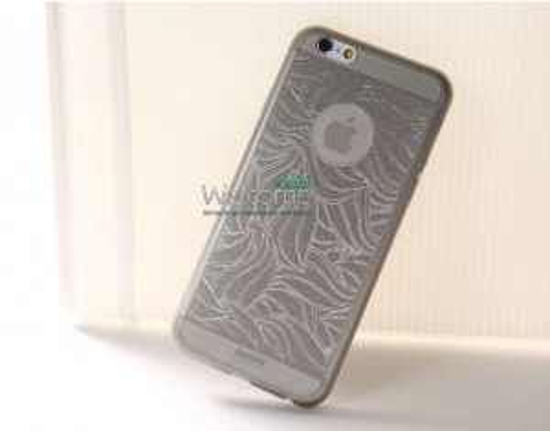 Чехол Remax Autumn Leaves iPhone 6 силикон серый