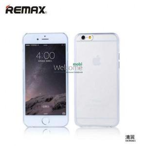 Чехол Remax Ultrathin iPhone 6 силикон прозрачный white 0.2mm