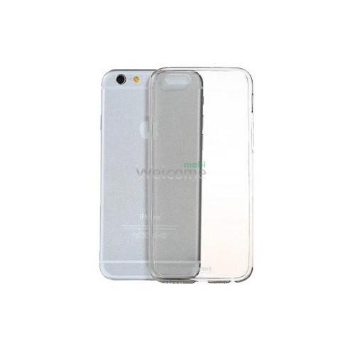 Чехол Remax Clear Series iPhone 6+ пластик прозрачный серый 0,5mm