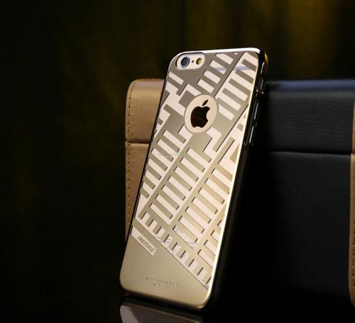 Чехол Remax Maze Series iPhone 6 пластик золото