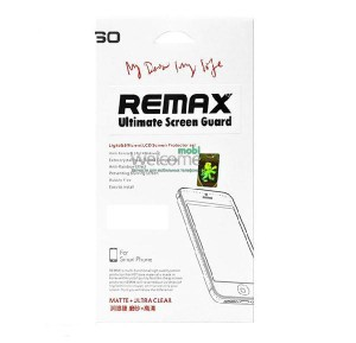 Защитная пленка iPhone6 Remax комплект матовая + глянец (2 шт)