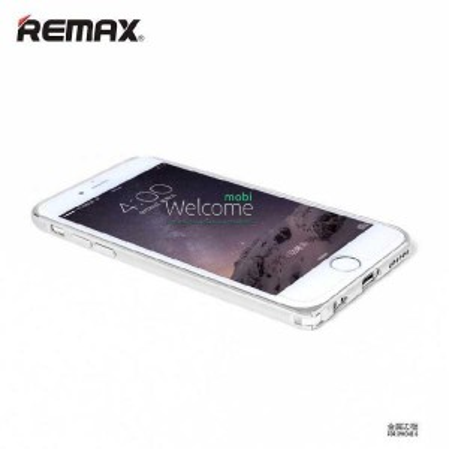 Бампер Remax Halo Series iPhone 6 серебро