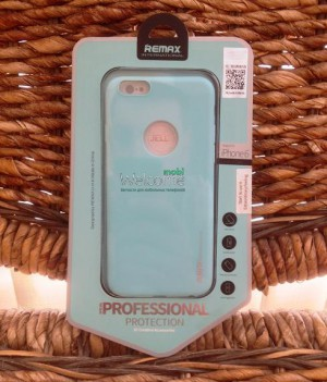 Чехол Remax Pudding Case iPhone6 силикон 0.2mm белый