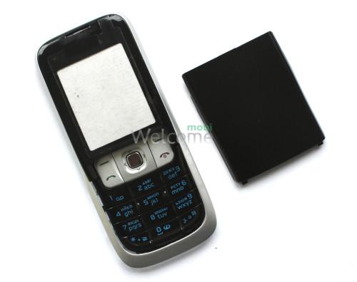 Корпус Nokia 2630 silver high copy полный комплект+кнопки