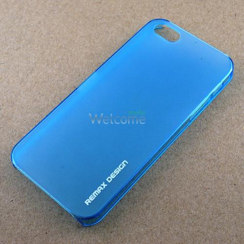 Чехол Remax Bingoo Matte пластик голубой 521703