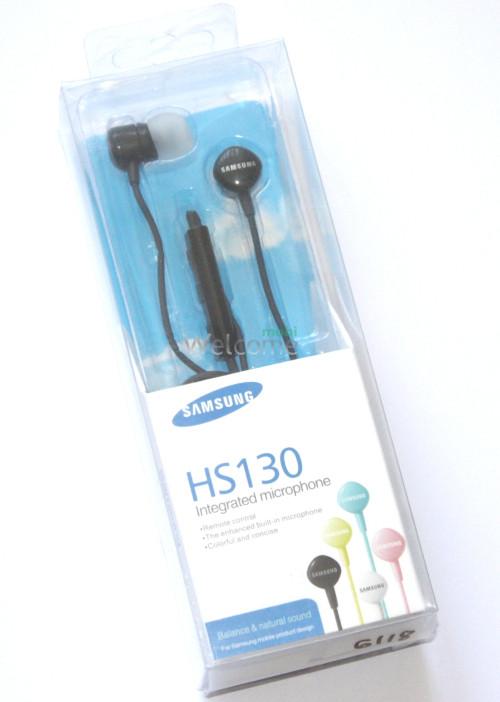 Наушники вакуумные Samsung HS130 black (гарнитура)