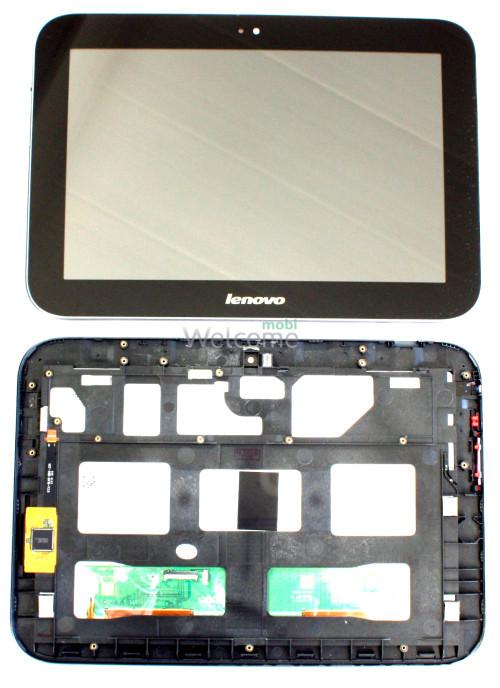 Дисплей к планшету Lenovo A2109 with touchscreen black orig